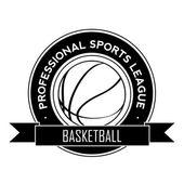 Basketball symbol — Stock Vector
