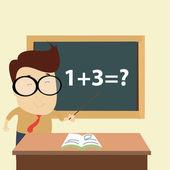 数学の授業 — ストックベクタ
