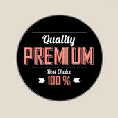 Quality premium — Stock Vector