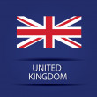 United Kingdom — Stock Vector