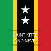 Saint Kitts and Nevis — Stock Vector