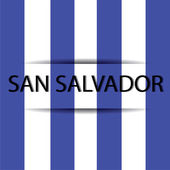 San Salvador — Stock Vector