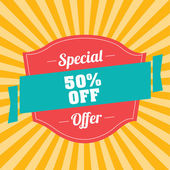 Special offer — Stock Vector