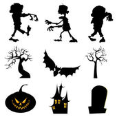 Halloween — Stock Vector