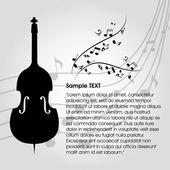 Cello — Stock Vector
