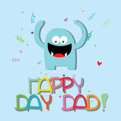 Happy day — Stock Vector