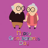 Grandparents — Stock Vector