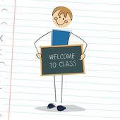 Classe Bienvenue — Vecteur