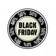 Black Friday — Stock Vector