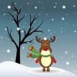 Reindeer — Stock Vector #31863795