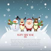 Happy new year — Stockvector