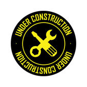 Unter Konstruktion — Stockvektor