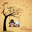 Thanksgiving day — Imagen vectorial