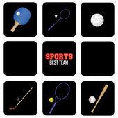 Sports — Vetorial Stock