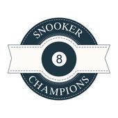 Snooker — Vetorial Stock