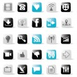 Social Media Icons — Stockvectorbeeld
