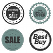 Labels — Stock Vector
