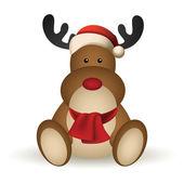рождественский олень — Cтоковый вектор
