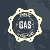 Gas label — Vetorial Stock