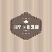Happy New Year — Vector de stock
