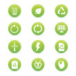 Sustainability icons — Stock Vector #36420663