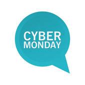 Cyber pazartesi — Stok Vektör