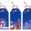 Christmas tags — Stock Vector #34028337