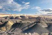 打开采矿业-煤矿 — 图库照片