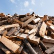 Foto Stock: Bunch of wooden logs