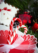 Beautiful candy canes — Stok fotoğraf