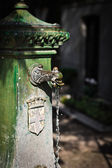 Antique standpipe. Cimitero Monumentale, Milan — Stock Photo
