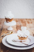 Cupcakes for wedding — Stock Photo