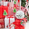 Little gifts for christmas time — Stock Photo