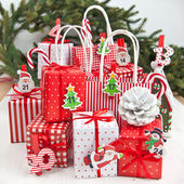 Little gifts for christmas time — Stockfoto