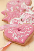 Colorful cookies for christmas — Stock Photo
