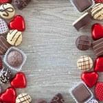 Variety of chocolates — Stock Photo #38341803