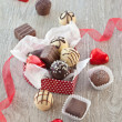 Variety of chocolates — Stock Photo #38341913