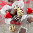 Variety of chocolates — Stock Photo #38341957