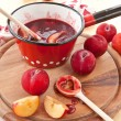 Постер, плакат: Homemade plum sauce