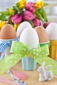 Boiled eggs for easter — Foto de Stock