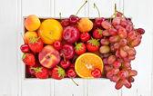 Colorful fresh fruits — Stock Photo
