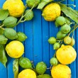 Fresh organic Lemons — Stock Photo #50527839