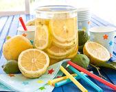 Homemade iced tea — Stock Photo
