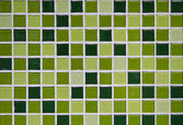 Green square pattern — Stock Photo