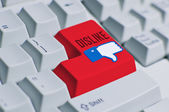 Dislike Button — Stock Photo