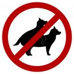 Постер, плакат: No doggie breeding Sign