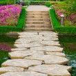 Stony Path through the garden — Stock Photo #27666373