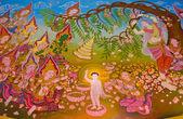 Buddha's biography: Birth of the Buddha — Stock Photo