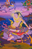 Buddha's biography: Prepare to ordian — Stock Photo