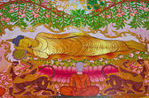 Buddha dying moment — Stock Photo